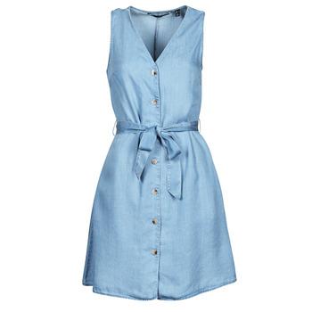 textil Dame Korte kjoler Vero Moda VMVIVIANA Blå / Lys