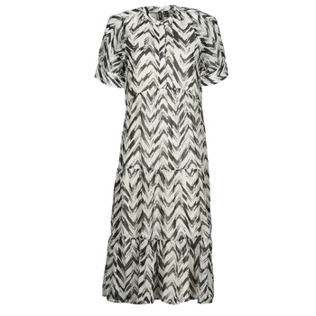 textil Dame Lange kjoler Vero Moda VMKATHRINE Hvid / Sort