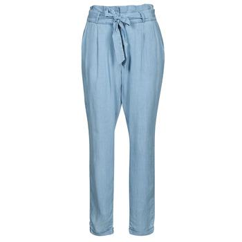 textil Dame Chinos / Gulerodsbukser Vero Moda VMVIVIANAEVA Blå / Lys