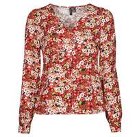 textil Dame Skjorter / Skjortebluser Vero Moda VMSIMPLY EASY Rød