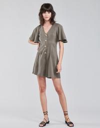 textil Dame Buksedragter / Overalls Vero Moda VMVIVIANA Kaki
