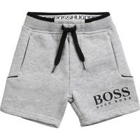 textil Dreng Shorts BOSS J04M57-A32-B Grå