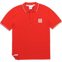 textil Dreng Polo-t-shirts m. korte ærmer BOSS BARBORA Rød