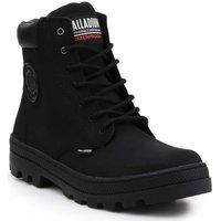 Sko Dame Høje sneakers Palladium Pallabosse SC Waterproof 96868-008-M black