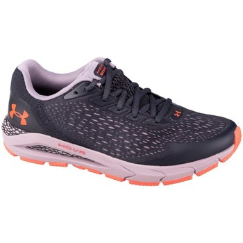 Sko Børn Lave sneakers Under Armour GS Hovr Sonic 3 Lilla, Grafit