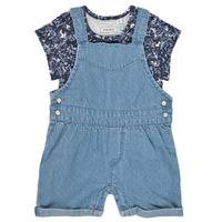 textil Pige Buksedragter / Overalls Ikks XS37010-84 Blå