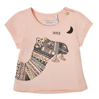 textil Pige T-shirts m. korte ærmer Ikks XS10100-32 Pink