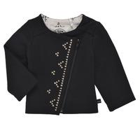 textil Pige Veste / Cardigans Ikks XS17020-02 Sort