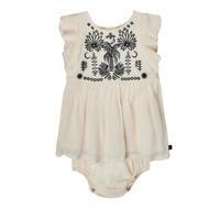textil Pige Korte kjoler Ikks XS30060-11 Hvid
