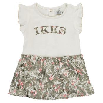 textil Pige Korte kjoler Ikks XS30120-19 Flerfarvet