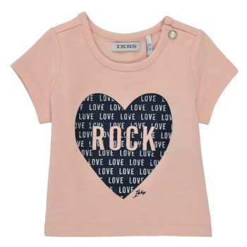 textil Pige T-shirts m. korte ærmer Ikks XS10120-31 Pink