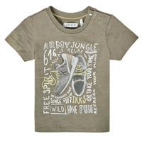 textil Dreng T-shirts m. korte ærmer Ikks XS10141-57 Kaki