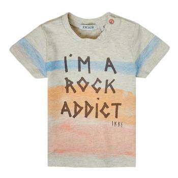 textil Dreng T-shirts m. korte ærmer Ikks XS10061-60 Flerfarvet