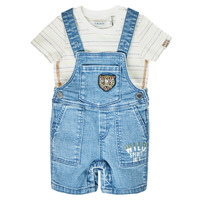 textil Dreng Buksedragter / Overalls Ikks XS37011-84 Blå