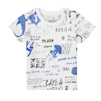textil Dreng T-shirts m. korte ærmer Ikks XS10021-19 Flerfarvet