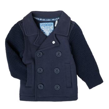 textil Dreng Veste / Cardigans Ikks XS17001-48 Marineblå