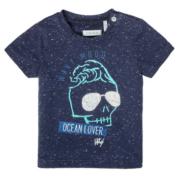 textil Dreng T-shirts m. korte ærmer Ikks XS10011-48 Marineblå
