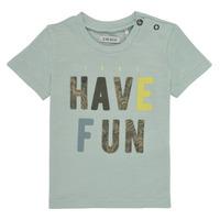 textil Dreng T-shirts m. korte ærmer Ikks XS10131-50 Blå