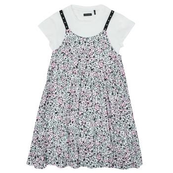 textil Pige Korte kjoler Ikks XS30182-19-J Flerfarvet