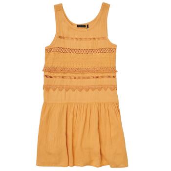 textil Pige Korte kjoler Ikks XS31012-74-J Orange