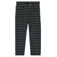 textil Pige Løstsiddende bukser / Haremsbukser Ikks XS22002-02-J Sort