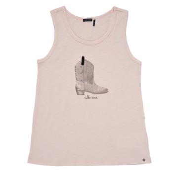 textil Pige Toppe / T-shirts uden ærmer Ikks XS10302-31-C Pink