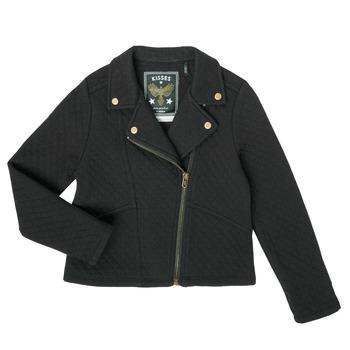 textil Pige Veste / Cardigans Ikks XS17012-02-J Sort