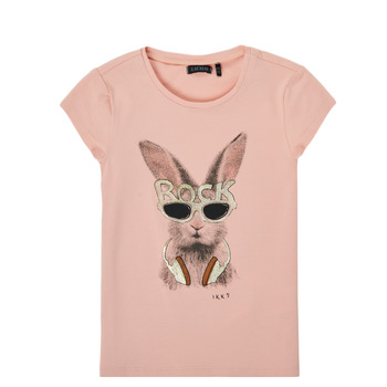 textil Pige T-shirts m. korte ærmer Ikks XS10342-32-J Pink
