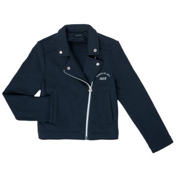 textil Pige Veste / Cardigans Ikks XS17072-48-C Marineblå