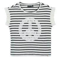textil Pige T-shirts m. korte ærmer Ikks XS10022-19-C Flerfarvet