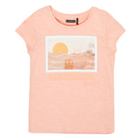 textil Pige T-shirts m. korte ærmer Ikks XS10332-32-C Pink
