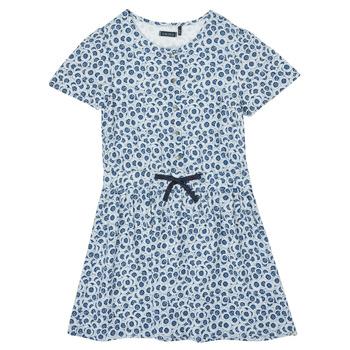 textil Pige Korte kjoler Ikks XS30102-48-C Blå