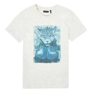 textil Dreng T-shirts m. korte ærmer Ikks XS10183-22-C Hvid