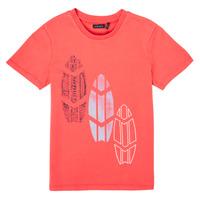 textil Dreng T-shirts m. korte ærmer Ikks XS10043-79-C Rød