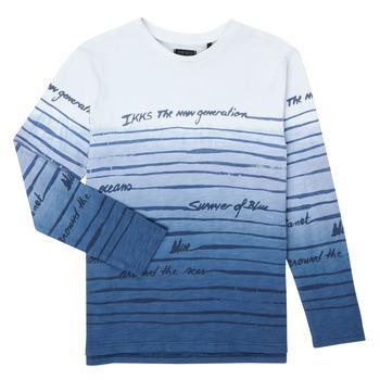 textil Dreng Langærmede T-shirts Ikks XS10003-19-C Flerfarvet