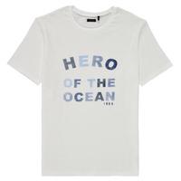 textil Dreng T-shirts m. korte ærmer Ikks XS10343-19-C Hvid