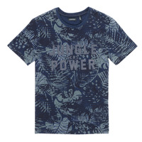 textil Dreng T-shirts m. korte ærmer Ikks XS10153-46-C Marineblå
