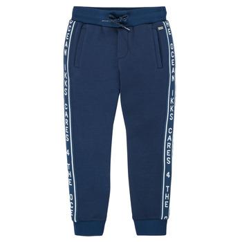 textil Dreng Træningsbukser Ikks XS23003-48-J Marineblå