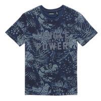 textil Dreng T-shirts m. korte ærmer Ikks XS10153-46-J Marineblå