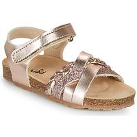 Sko Pige Sandaler Mod'8 KOENIA Pink / Guld
