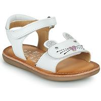 Sko Pige Sandaler Mod'8 CLOONIE Hvid