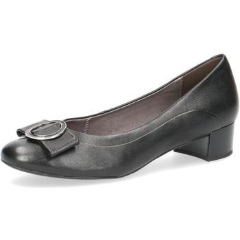 Sko Dame Ballerinaer Caprice Elegant Low Heels Black Sort