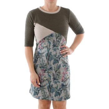 textil Dame Korte kjoler Smash MARBELLA DRESS ARMY 38 Verde