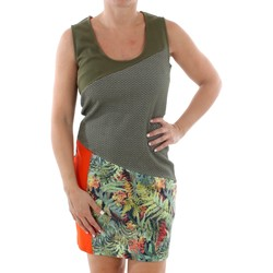 textil Dame Korte kjoler Smash CADIZ DRESS ARMY 38 Verde