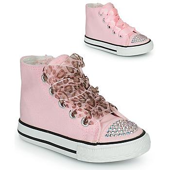 Sko Pige Høje sneakers Citrouille et Compagnie OUTIL Pink