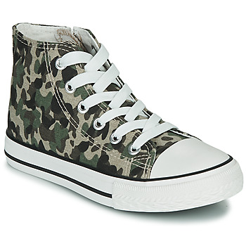 Sko Børn Høje sneakers Citrouille et Compagnie OUTIL Camouflage