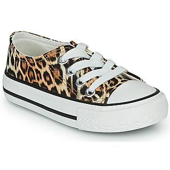 Sko Pige Lave sneakers Citrouille et Compagnie OTAL Leopard