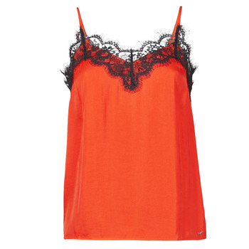 textil Dame Toppe / T-shirts uden ærmer Les Petites Bombes AMY Orange
