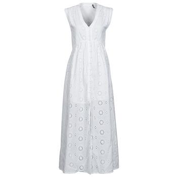 textil Dame Lange kjoler Les Petites Bombes BRIDIE Hvid