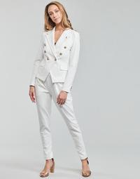 textil Dame Løstsiddende bukser / Haremsbukser Les Petites Bombes ALEXANDRA Hvid